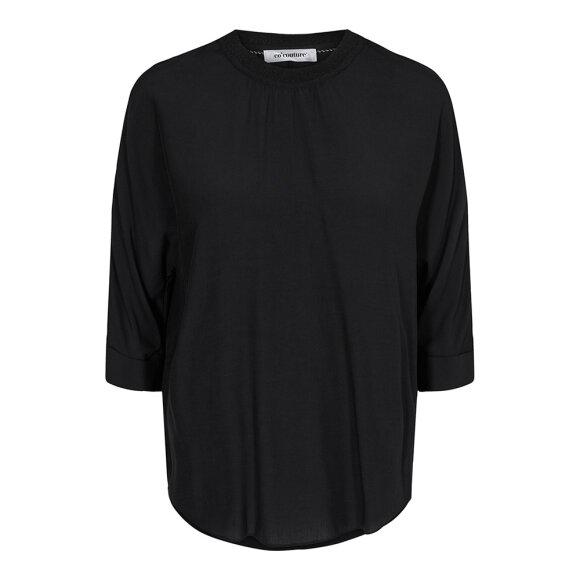 CO COUTURE - NORMA BLOUSE - BLACK