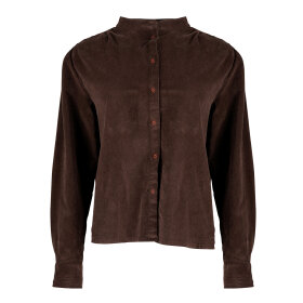 TIFFANY - SHIRT CORDUROY - BROWN