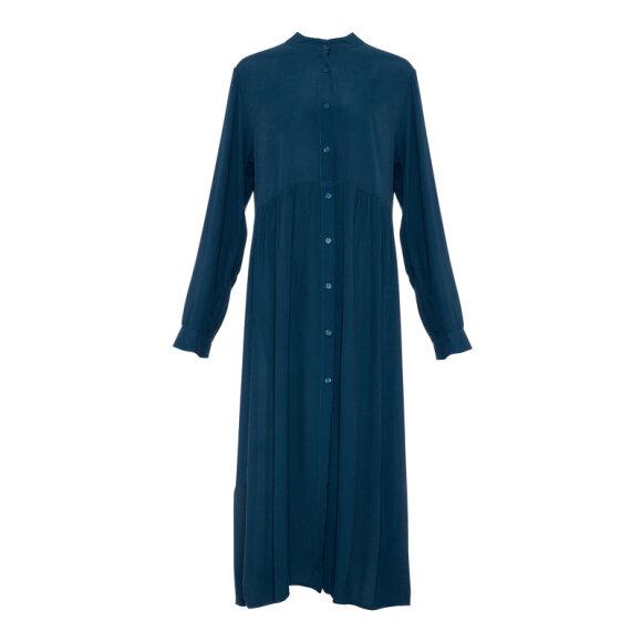 TIFFANY - LONG SLEEVE DRESS BOTTLED GREE