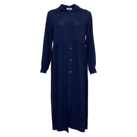 TIFFANY - LONG SLEEVE DRESS - NAVY
