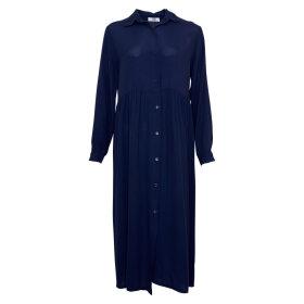TIFFANY - LONG SLEEVE DRESS - NAVY