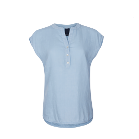 ONE TWO LUXZUZ - KIKA BLOUSE ICE BLUE