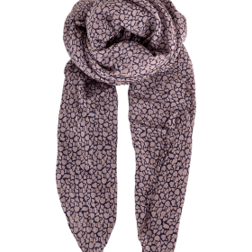 BLACK COLOUR - LUI BUBBLE SCARF - ROSE