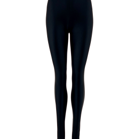 BLACK COLOUR - GAYA GLOOY LEGGINGS BLACK