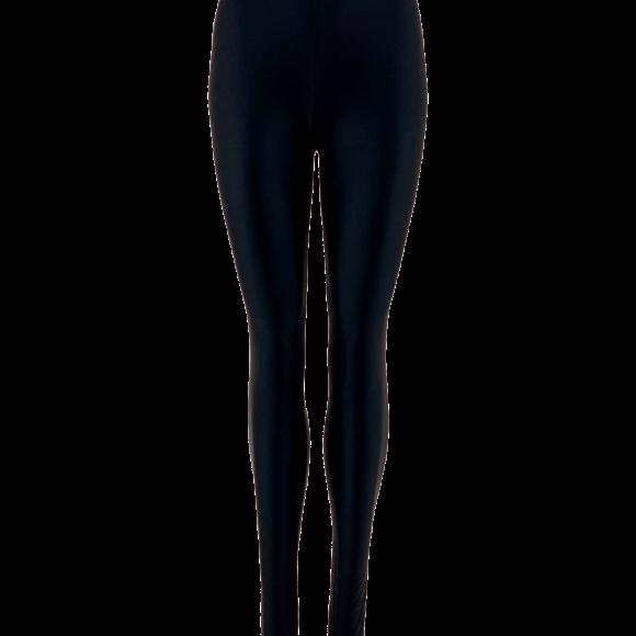BLACK COLOUR - GAYA GLOOY LEGGINGS BLACK