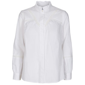 CO COUTURE - SILLA LACE BLOUSE WHITE