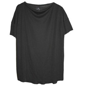 LISELOTTE HORNSTRUP - SQUARE T-SHIRT BLACK