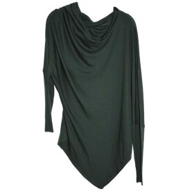 LISELOTTE HORNSTRUP - DRAPE SHIRT BOTTLE GREEN