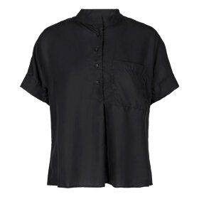 MOS MOSH - ISA BLOUSE BLACK