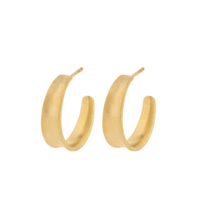 PERNILLE CORYDON - SMALL SAGA EARRINGS 22 MM