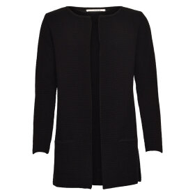SIBIN LINNEBJERG - MARY KORT SORT CARDIGAN