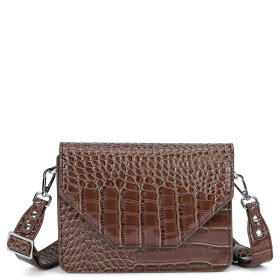 UNLIMIT - D. BROWN SHOULDER BAG ROSEMARY