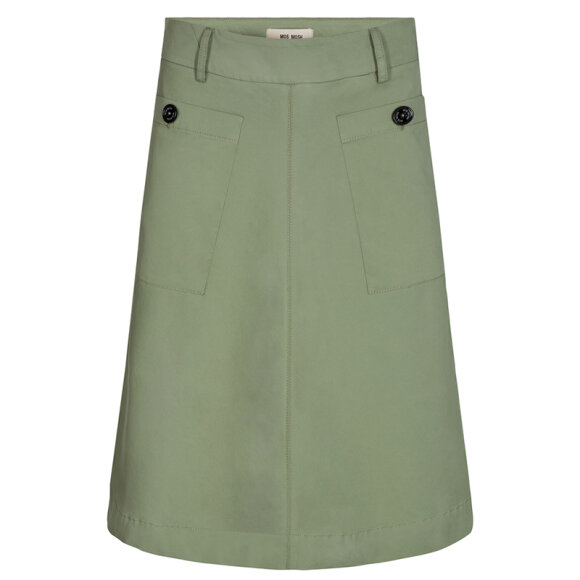 MOS MOSH - ALICE COLE SKIRT OIL GREEN