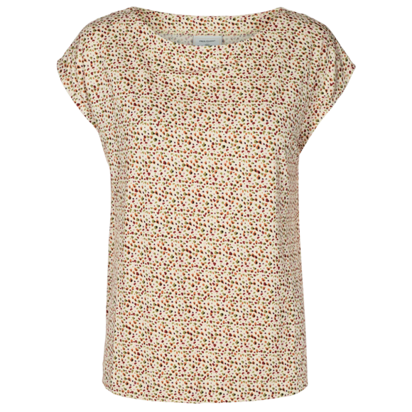 FREEQUENT - SILVER PINK MIX BIBA T-SHIRT