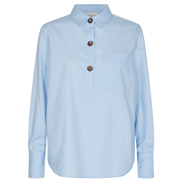 FREEQUENT - CHAMBRAY BLUE FQFLYNN-SH