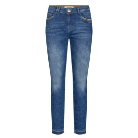 MOS MOSH - SUMMER JEWEL JEANS BLUE ANKLE