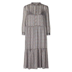 LOLLYS LAUNDRY - DUSTY BLUE NAJA DRESS
