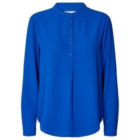 LOLLYS LAUNDRY - NEON BLUE LUX SHIRT