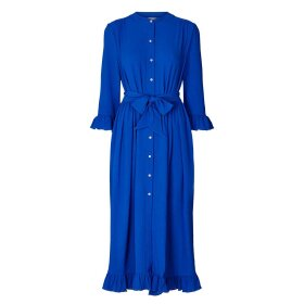 LOLLYS LAUNDRY - NEON BLUE HARPER DRESS