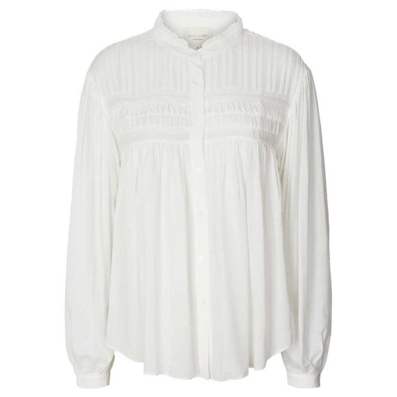 LOLLYS LAUNDRY - WHITE CARA BLUSE