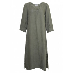 TIFFANY - ARMY DRESS LINEN