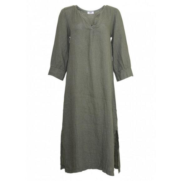 TIFFANY - ARMY DRESS LINEN