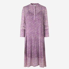 SAMSØE SAMSØE - WIS PURPLE ELM SHIRT DRESS9695