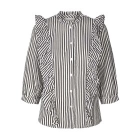 LOLLYS LAUNDRY - STRIPE HANNI SHIRT