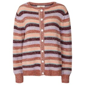 LOLLYS LAUNDRY - MULTI RINKI CARDIGAN