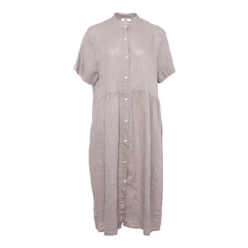 TIFFANY - NOUGAT DRESS LINEN
