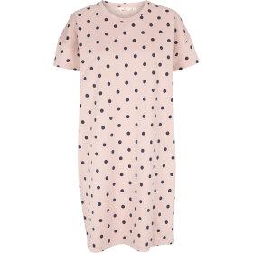 BASIC APPAREL - DUSTY ROSE DOTTE DRESS