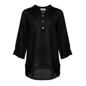 TIFFANY - 17661 Shirt Black Linen