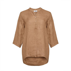 TIFFANY - 17661 Shirt Camel Linen