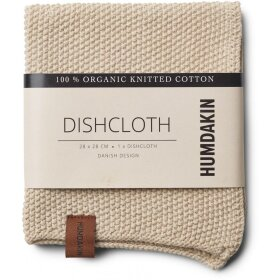 HUMDAKIN - LIGHT STONE KNITTED DISHWASH