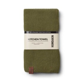 HUMDAKIN - FERN KNITTED KITCHEN TOWEL