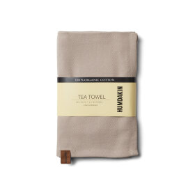 HUMDAKIN - LIGHT STONE ORGANIC TEA TOWEL