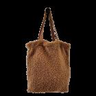 BLACK COLOUR - CAMEL TEDDY TOTE BAG
