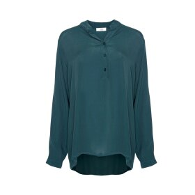 TIFFANY - LONG SLEEVE SHIRT - BOTTLE GRE