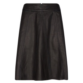 MOS MOSH - BLACK ADALYN LEATHER SKIRT