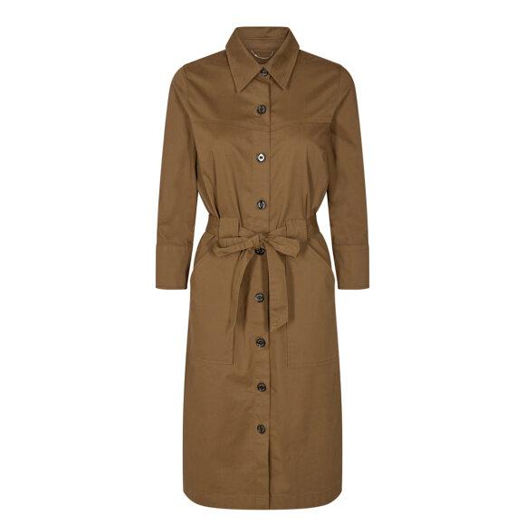MOS MOSH - DEER BROWN SELBY COLE DRESS