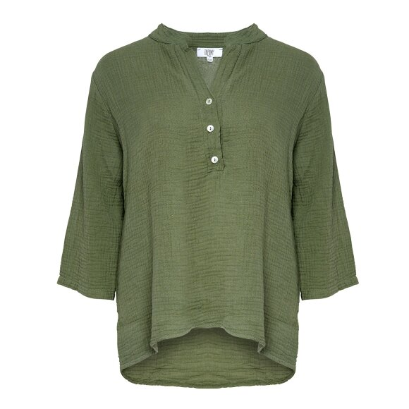 TIFFANY - ARMY SHIRT COUBLE COTTON