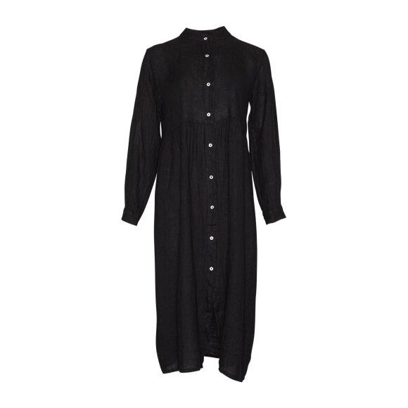 TIFFANY - BLACK DRESS LINEN