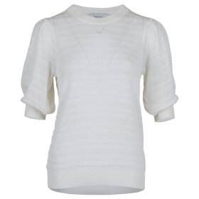 NEO NOIR - BORA STITCH BLOUSE OFF WHITE