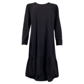 BLACK COLOUR - BLACK SANNA JERSEY DRESS
