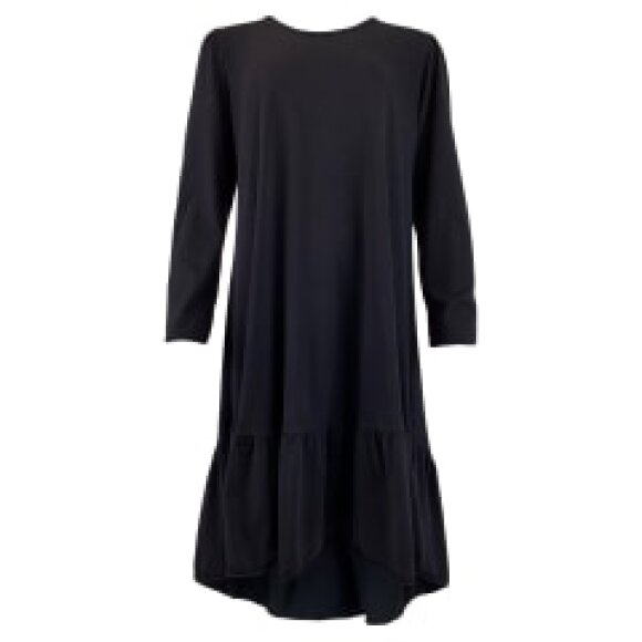 BLACK COLOUR - BLACK SANNA JERSEY DRESS