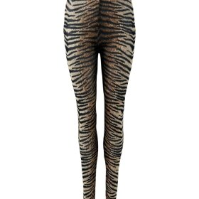 BLACK COLOUR - TIGER ANNIE MESH LEGGINS
