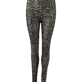 BLACK COLOUR - BROWN LEO ANNIE MESH LEGGINS