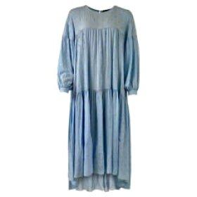 BLACK COLOUR - LT BLUE LEX DRESS