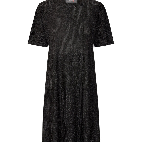 MOS MOSH - BLACK META KNIT DRESS