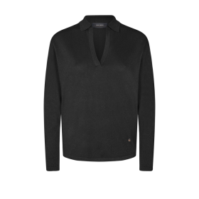 MOS MOSH - BLACK WYLIE KNIT